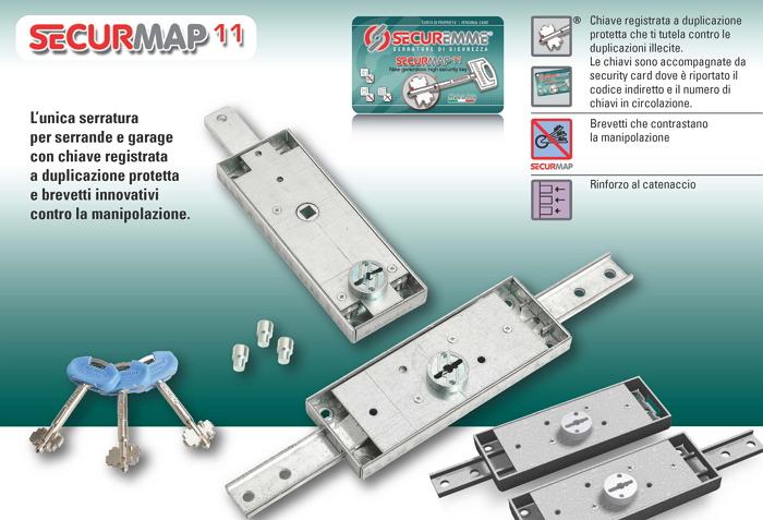 Securemme nuove serrature sicure per serrande e garage for Serrature sicure