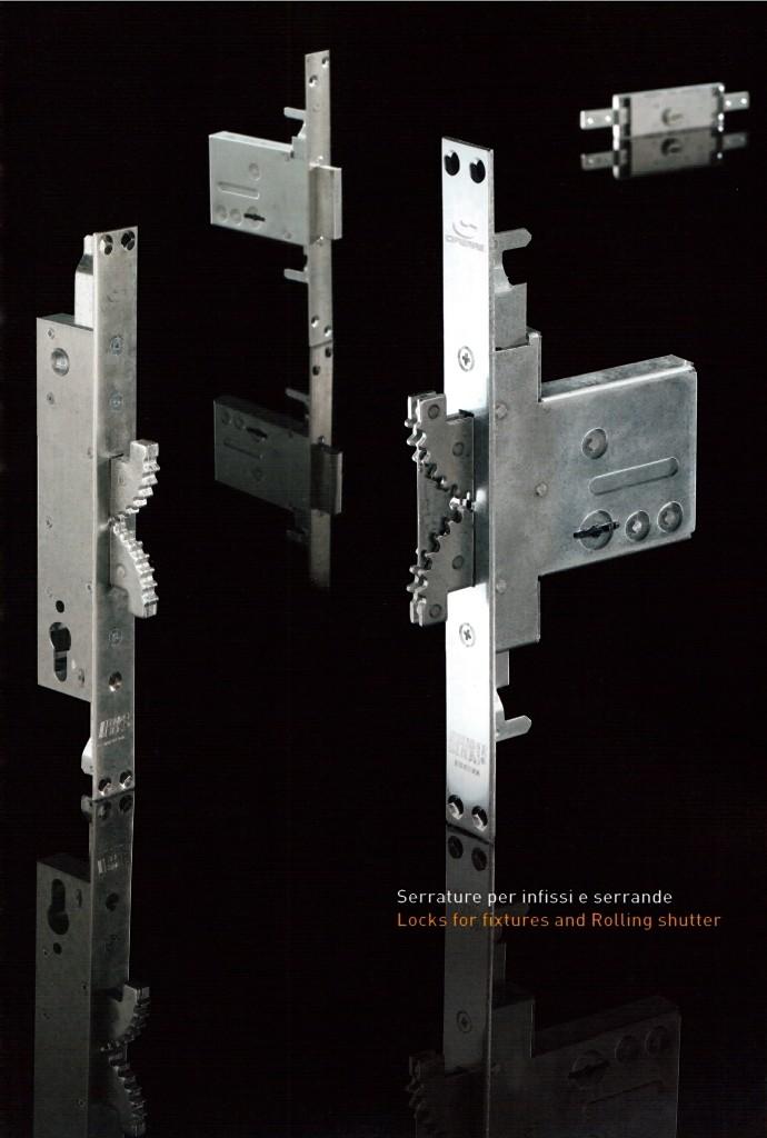 BUNKERLOCKS - Serratura brevettata con catenacci autobloccanti