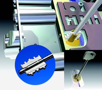 Nuove serrature brevettate CR magnetiche