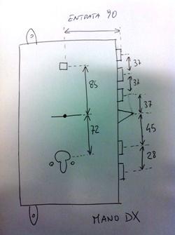 Come misurare interasse termosifoni infissi del bagno in for Calcolo fabbisogno termico