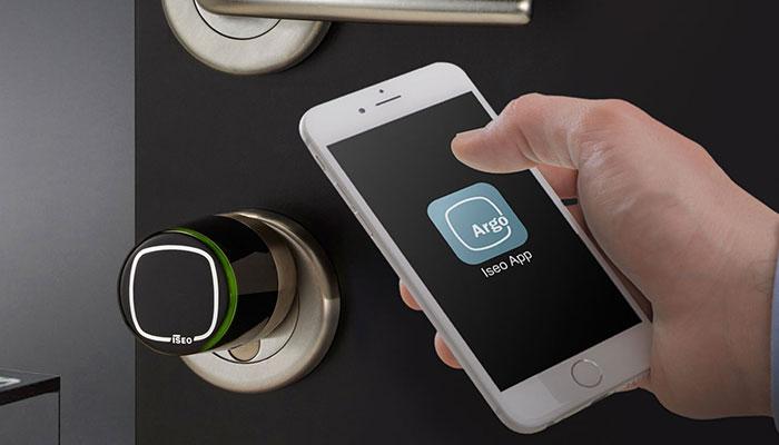 Cilindri elettronici apertura Smartphone - libra Iseo