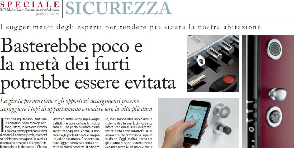 Speciale Sicurezza - Corriere Della Sera del 15 luglio 2015